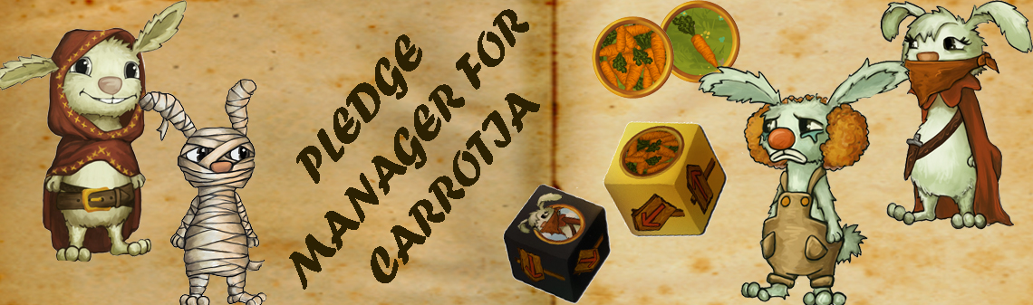 Carrotia Pledge Manager